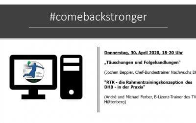 Online-Seminar #comebackstronger